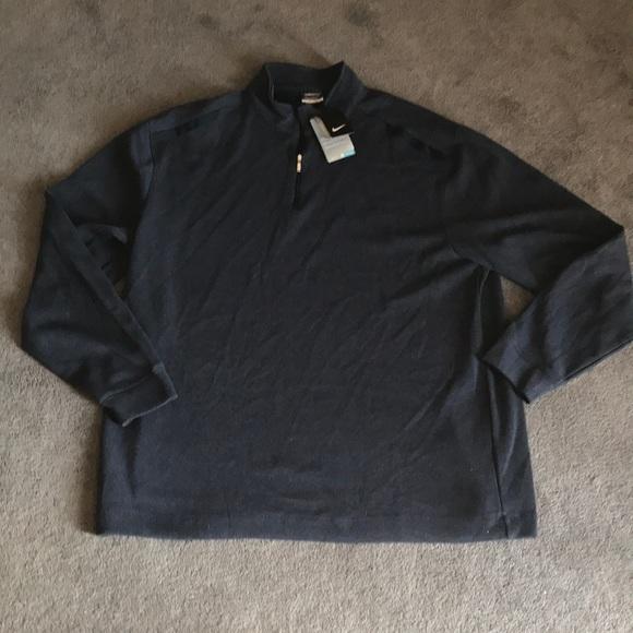 9ee4b796acfb Nike Men s XXL Golf 1 4 ZIP pullover Blue-
